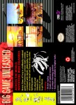 SNES - Brutal: Paws of Fury (back)