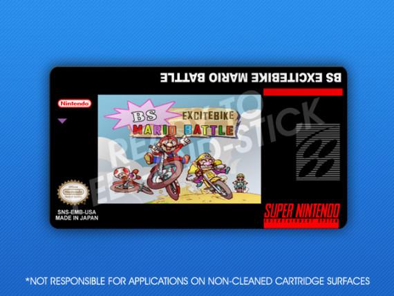 SNES - BS Excitebike Mario Battle