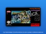 SNES - Burning Heroes Label