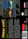 SNES - Burning Heroes (back)