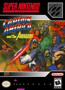 SNES - Captain America (front)