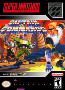 SNES - Captain Commando (front)