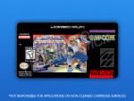 SNES - Captain Commando Label