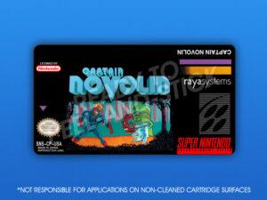 SNES - Captain Novolin Label