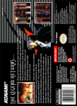 SNES - Castlevania: Dracula X (back)