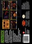 SNES - Chavez II (back)