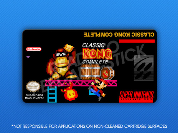 SNES - Classic Kong Complete Label