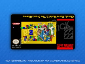 SNES -Classic Mario World 2: The Great Alliance Label