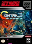 SNES - Contra III (front)