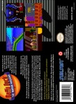 SNES - Daffy Duck: The Marvin Missions (back)
