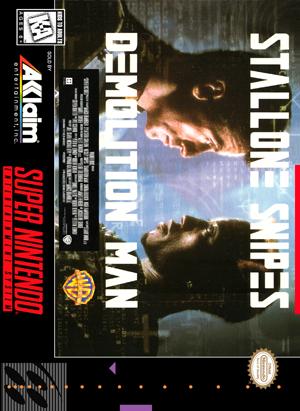 SNES - Demolition Man (front)