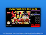 SNES - Demon Child Zenki: Battle Raiden Label