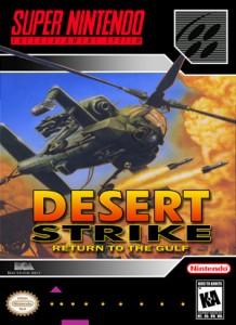 Desert Strike Return To The Gulf Retro Game Cases