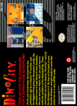 SNES - Dino City (back)