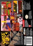 SNES - Dirt Trax FX (back)