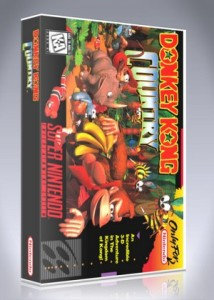 SNES - Donkey Kong Country (Black)