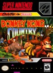 SNES - Donkey Kong Country (front)