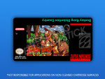 SNES - Donkey Kong Distortion Country Label