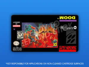 SNES - Doom Label