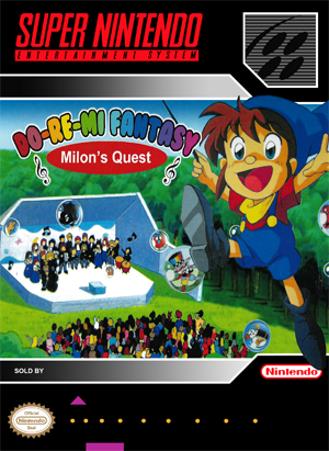 SNES - Do-Re-Mi Fantasy: Milon's Quest (front)