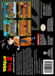 SNES - Dragon Ball Z: Super Butouden 3 (back)