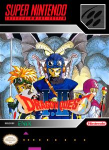 SNES - Dragon Quest I & II (front)