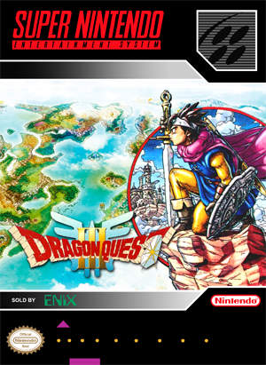 SNES - Dragon Quest III (front)