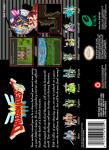 SNES - Dragon Quest III (back)