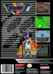 SNES - Dragon Quest V (back)