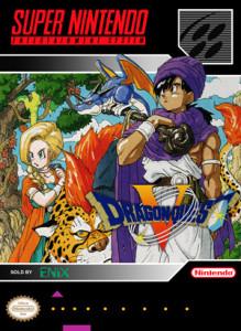 SNES - Dragon Quest V (front)