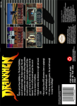 SNES - Drakkhen (back)