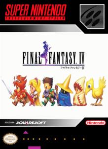 SNES - Final Fantasy IV (front)