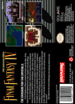 SNES - Final Fantasy IV (back)