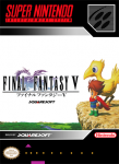 SNES - Final Fantasy V (front)