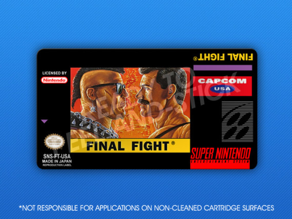 SNES - Final Fight