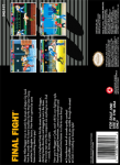 SNES - Final Fight (back)