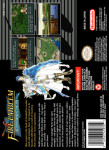 SNES - Fire Emblem: Genealogy of the Holy War (back)
