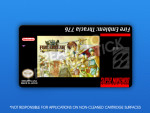 SNES - Fire Emblem: Thracia 776 Label