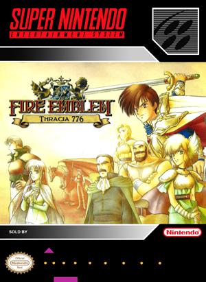 SNES - Fire Emblem: Thracia 776 (front)