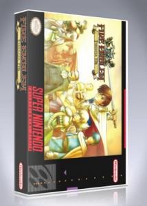 Snes Fire Emblem Thracia 776 Custom Game Case Retro