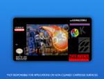 SNES - Firestriker Label