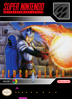 SNES - FireStriker (front)
