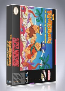 SNES - The Flintstones: The Treasure of Sierra Madrock