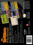 SNES - The Flintstones: The Treasure of Sierra Madrock (back)