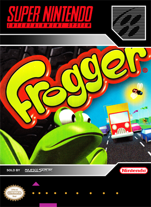 SNES - Frogger (front)