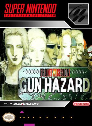SNES - Front Mission: Gun Hazard (front)