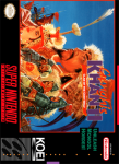 SNES - Genghis Khan II: Clan of the Gray Wolf (front)
