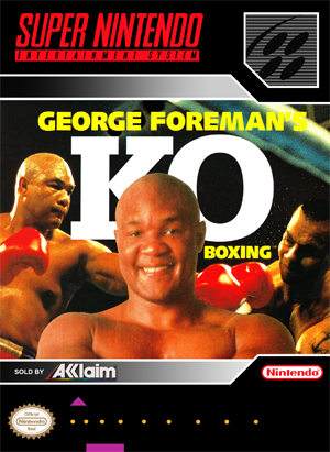 SNES - George Foreman's KO Boxing (front)