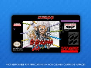SNES - Go! Go! Ackman Label