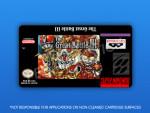SNES - Great Battle III Label
